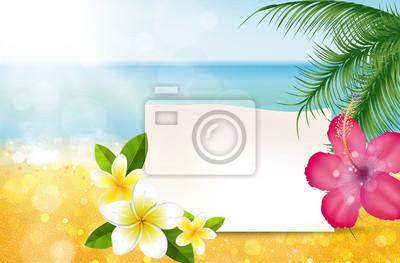 Naklejka Spiaggia, klacz, Messaggio