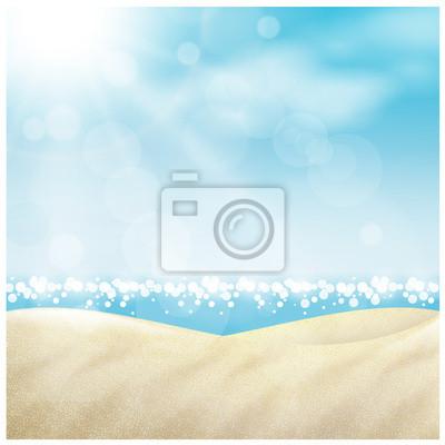 Naklejka Spiaggia w nieruchomości