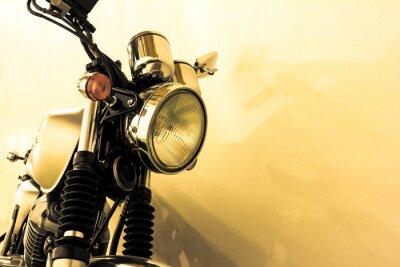 Naklejka Split toning  vintage Motorcycle