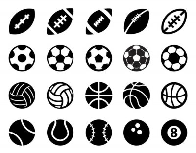 Naklejka Sport Balls