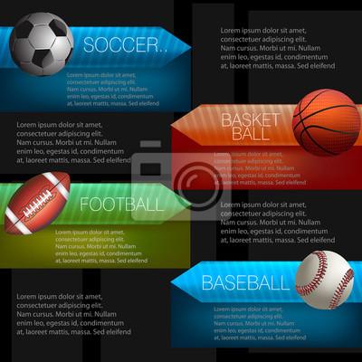 Sport Infograficzna Projekt. Wszystkie elementy są w oddzielnych warstwach i pogrupowane.
