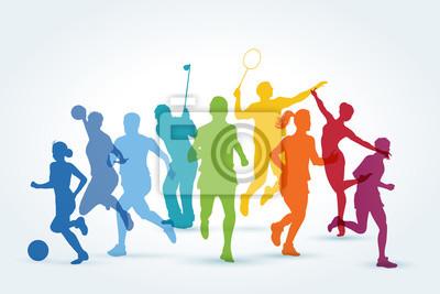 Naklejka sports