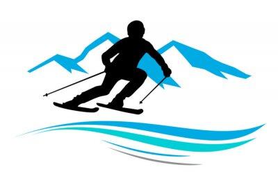 Naklejka Sporty zimowe - 13