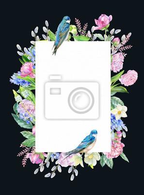 Spring invitational frame