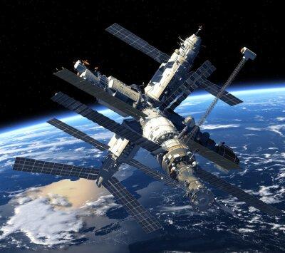 Stacja Kosmiczna orbicie Ziemi