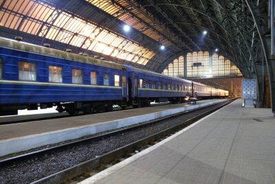 Naklejka Stacja Lwów