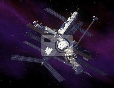Stacji kosmicznej w przestrzeni