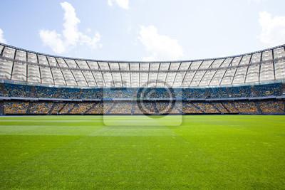 Naklejka Stadion Olimpijski w Kijowie, gdzie Europy w piłce nożnej w 2012 roku zostały odtworzone