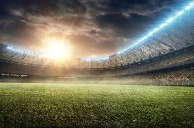 Naklejka stadion piłkarski 9