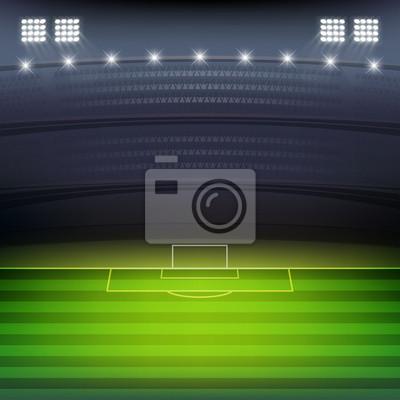 stadion piłki nożnej w tle