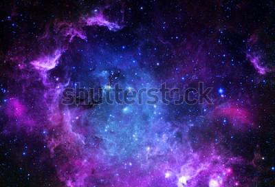 Naklejka Starfield - Elementy tego obrazu Dostarczone przez NASA