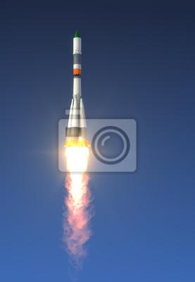Start rakiety ładunek