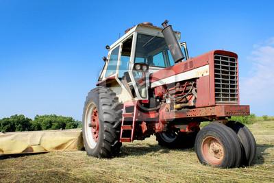 stary ciągnik rolniczy