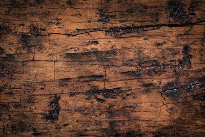 Naklejka Stary drewniany deski tekstury tło. Naturalna wietrzejąca tekstura drewniane deski.