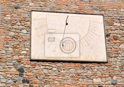 Stary zegar słoneczny