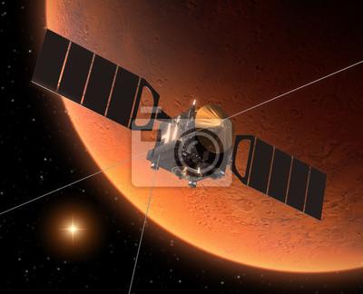 "Statki kosmiczne ""Mars Express"", Orbiting Mars"