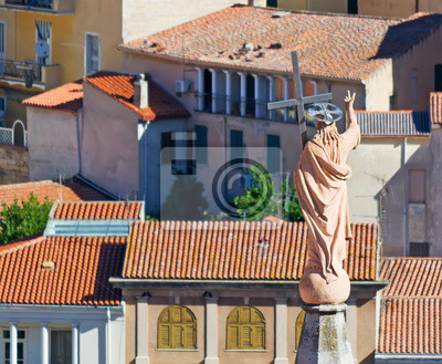 Statua i dachy