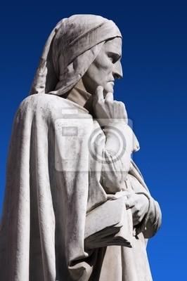 Statue of Dante Verone - Statua di Dante Verona Włochy