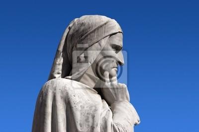 Statue of Dante Verone (Verona) Włochy