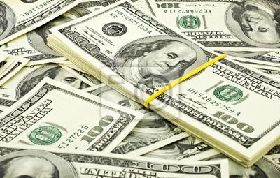 sterty dolarów, tła pieniędzy