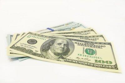 sto dolarów banknotów