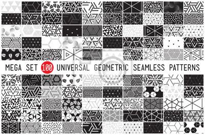 Naklejka Sto uniwersalne różne wzory geometryczne szwu
