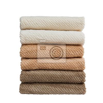 Stos ręczniki