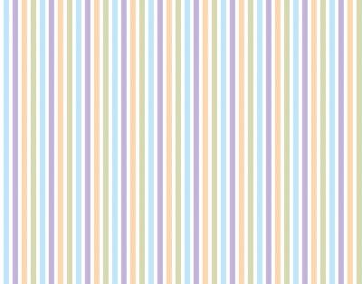 Naklejka Streifenmuster tła Pastellfarben