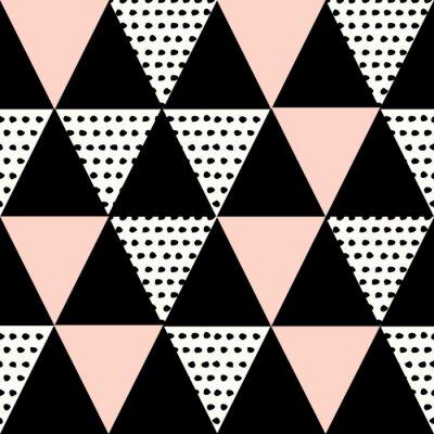 Naklejka Streszczenie geometryczny wzór
