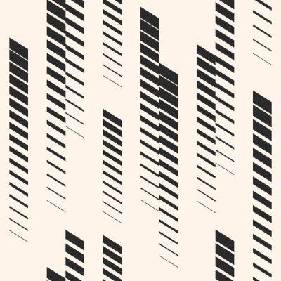 Naklejka Streszczenie graficzny wzór z pionowe linie, tory, paski półtonów. Wzór sportowy. Wzór miejski.