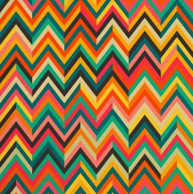 Naklejka Streszczenie kolor vintage, retro bezszwowe tło wzór