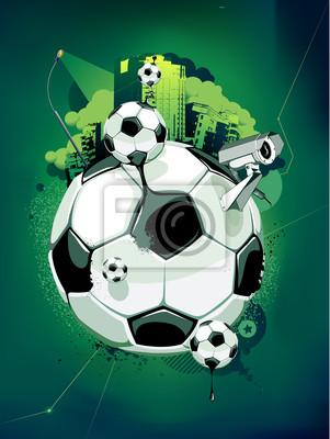 Streszczenie obraz piłki nożnej
