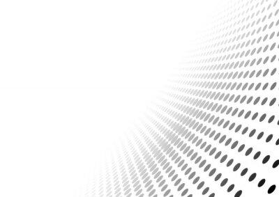 Naklejka Streszczenie Przerywana Perspektywa tle - ilustracji Gradient Effect, Wektor