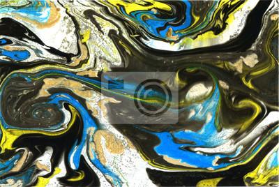 Streszczenie ręcznie tekstury. Marmur tle. Jasne kolory kontrast. Nowoczesny artystyczny projekt.