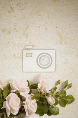 streszczenie rocznika tle papieru kwiat