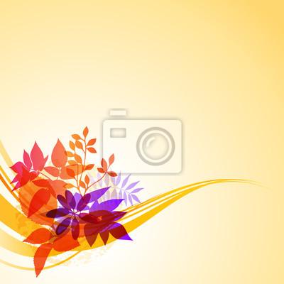 Streszczenie tle kwiatów
