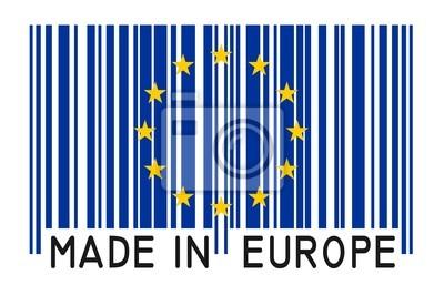 Strichcode - Made in Europe