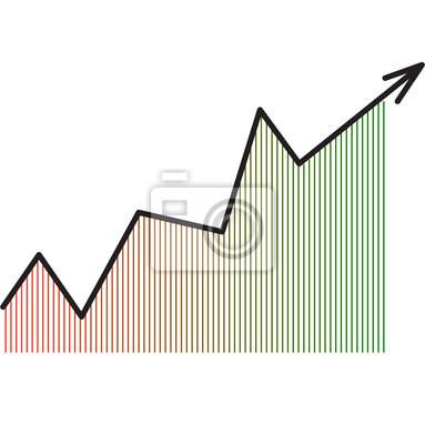 Strzałka wykres chart