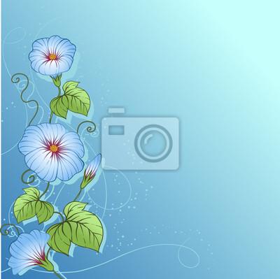 Stylowe tle kwiatów. Projekt kwiatów wektora.
