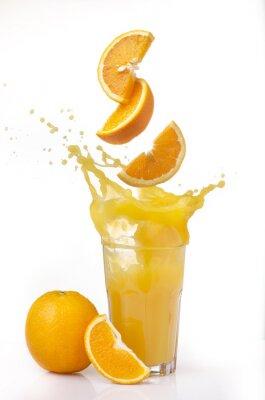 Naklejka Succo d'arancia powitalny