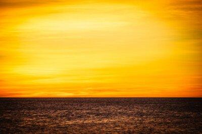 Naklejka Sunrise or sunset over sea