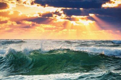 Naklejka Sunrise Wave