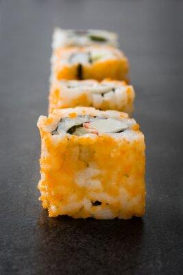 Naklejka Sushi. japońskie jedzenie