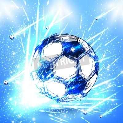 Naklejka Światło etap nożnej