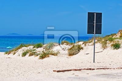 Sygnał na plaży