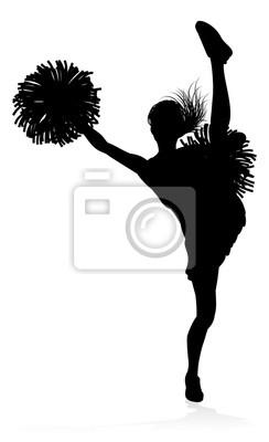 Sylwetka Cheerleader
