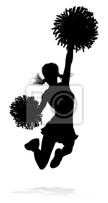 Sylwetka cheerleaderka