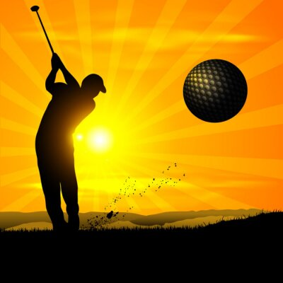 sylwetka golfa