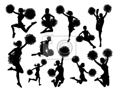 Sylwetki cheerleaderki