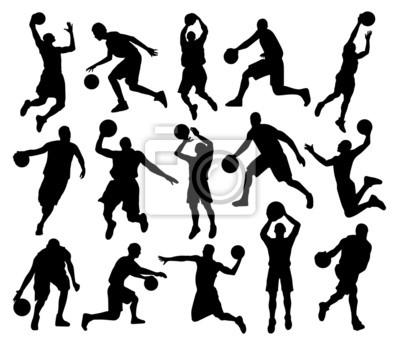 Sylwetki Koszykówka